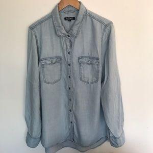 Buffalo large button down shirt